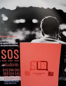Livro da SOS Estudante «Linha SOS Estudante, boa noite», lançado a 17 de Abril de 2015